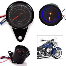 LED Backlight 13000 RPM Tachometer Scooter Tacho Gauge Motorcycle Speedometer