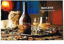 Publicité Advertising 1989 (2 pages) La Liqueur Baileys