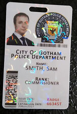 Gotham City Police Department Batman Novelty ID Badge Card - FULLY CUSTOMISABLE
