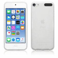Clear Silicone Gel Case Cover & Free Screen Guard For Apple iPod Touch 6th Gen