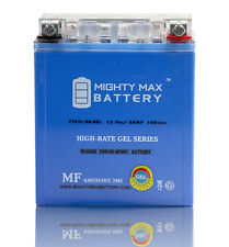 Mighty Max  12V 6AH 100CCA GEL Battery for Go Cart ATV Scooter Batteries
