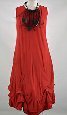 LAGENLOOK DESIGNER 'SHE'  PARACHUTE DRESS  DRESS  SIZE XXL/XXXL RED