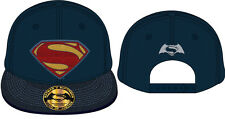 Batman vs Superman Cap Contrast Logo Dawn Of Justice Snapback Cap Mütze DC Comic