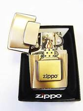 Zippo ® Golden lighter Emblem Antique Brass Limited Edition Neu / New OVP