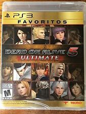 Dead or Alive 5: Ultimate (PS3) BRAND NEW SEALED SHIPS NEXT DAY