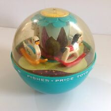 Vintage 1966 Fisher Price Roly Poly Chime Ball #165