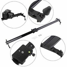 "31"" 80cm Glide Track Slider Rail Dolly Sliding Video for Tripod Camera DSLR DV"