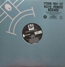 """Finger Fest Inc. """"Auto Porno"""" Remixes * YR089 / 2x12"""" / Chab, Choo Choo, Ramirez"""