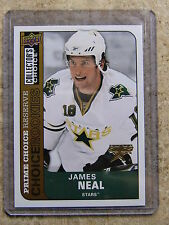 08-09 UD Collector's Choice Rookie 229 Prime Gold Reserve Parallel JAMES NEAL RC