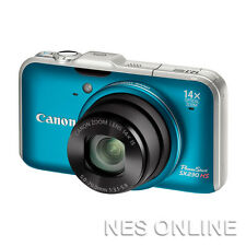Canon PowerShot SX230 HS 12.1MP Digital Camera  /w GPS 28mm Wide/14x Zoom/BLUE