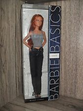 BARBIE BASICS JEANS 04-002 lara FACE - NRFB