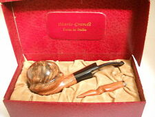 PIPE MARIO GRANDI BRIAR SMOOTH FIAMMATA WEIGHT 80gr. SCULPTURE FREE NEW PIPES