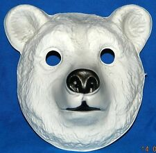 The Polar Bear Mask ! White Wonder of Ice ! Hairy & Scary !