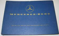 Ersatzteilkatalog Mercedes LKW Typ L / LAK / LAS / LAKO 1313 / 352 Fahrgestell