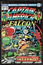 Captain America and The Falcon # 182~~ Inferno /Madame Hydra CVR ~ 1975 (7.5) WH