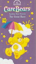 Care Bears Funshine Bear Presents The Great Race  VHS