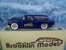 1/43 Brooklin models  Chevrolet nomad van 1955 BRK 26x  white metal