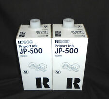 NEW Genuine Ricoh Lot Of 2X JP-500 Priport Ink