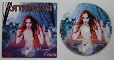 Catamenia Morning Crimson 1999 Adv Cardcover CD Metal