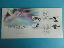 2000 FDC Singapore First Day Cover - Games of the XXVII Olympiad Sydney 2000