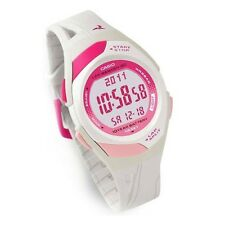Casio New Original STR-300-7 60 Lap Memory White Pink Running Watch STR-300