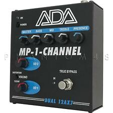 ADA Amplification MP-1-Channel Tube Guitar Preamp Distortion Effects Pedal - NEW