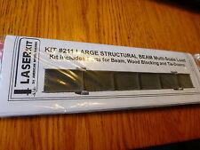 American Model Builders, Inc HO #211 LaserKit(R) Big Steel Beam Load Kit