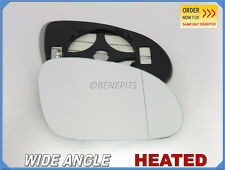Wing Mirror Glass VW SHARAN  2005-2010 WIDE ANGLE HEATED Right Side #1033