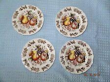 Johnson Bros. Windsor Ware Windsor HarvestTransfer Bread & Butter Plates Four