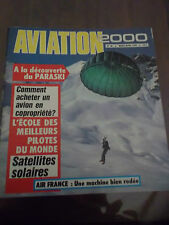 Aviation 2000 Le paraski Air France le RF6B Jean Stampe Concorde Sikorsky