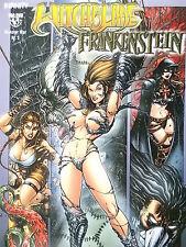 MONSTER WAR Heft 3 von 4  WITCHBLADE vs. FRANKENSTEIN ( Infinity ) Neuwertig