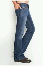 Guess Falcon Regular Boot Jeans In Walker Wash Cotton/Polyester Denim Size 29X32