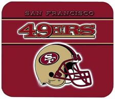 SAN FRANCISCO 49ERS MOUSE PAD 1/4 IN. SPORTS BASKETBALL NBA MOUSEPAD
