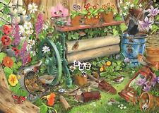 La casa de rompecabezas - 1000 Pieza Rompecabezas-Robin 's Nest pájaros y vida silvestre