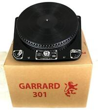 GARRARD 301 OIL BEARING TURNTABLE – CLASSIC TURNTABLE COMPANY REFURBISHED 2016