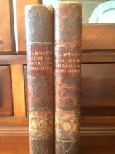 RARE 1793 History American Revolution, South Carolina, Independence WAR, leather