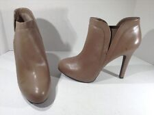 JESSICA SIMPSON Womens Acey Taupe Booties Ankle Boots Shoes Size 9.5 ZA-1049