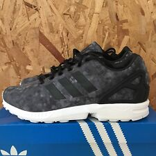 ADIDAS ZX FLUX WHITE MOUNTAINEERING BLACK GREY WHITE SIZE 11.5 NIB AF6228