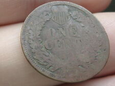 1902 Indian Head Cent Penny, Smashed/Elongated