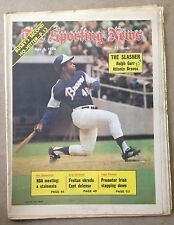 The Sporting News: Ralph Garr THE SLASHER Atlanta Braves JULY 6,1974
