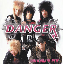 DANGER - California Red EP CD-R 2007 Glam Sleaze Metal *NEW*
