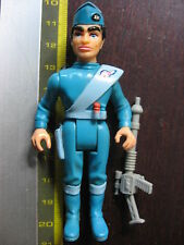 "3 3/4"" 10cm MATCHBOX THUNDERBIRDS SCOTT TRACY COMPLET GERRY ANDERSON"