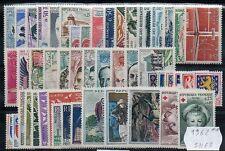 Année complete 1962  neufs **