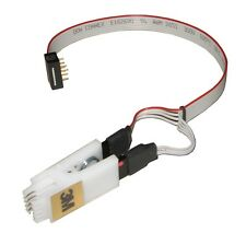 3M 8 WAY DIL / DIP TEST CLIP & ISP CABLE | SUITABLE FOR ANY 8 LEG PDIP EEPROM