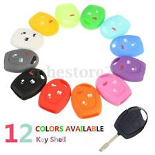 3 Botton Silicone Remote Key Shell Case Cover For FORD Focus Festiva Ka Mondeo
