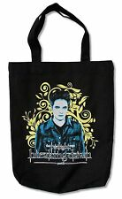 """TWILIGHT """"BREAKING DAWN 2"""" BLACK CANVAS TOTE BAG NEW EDWARD OFFICIAL MOVIE"""