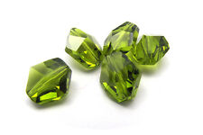 x 10 Cristalli SWAROVSKI ELEMENTS ORIGINALI 12mm 12 mm BEAD OLIVINE