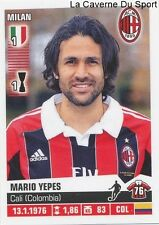 256 MARIO YEPES COLOMBIA AC.MILAN STICKER CALCIATORI 2013 PANINI