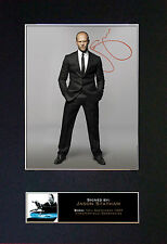 JASON STATHAM Quality Reproduction Autograph Signed Photo Print (A4) No182