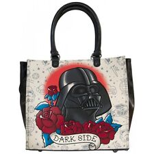 NWT Loungefly Star Wars Darth Vader Faux Leather Tattoo Tote Bag